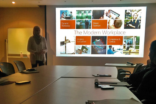 Microsoft 365 Cloud Training Session