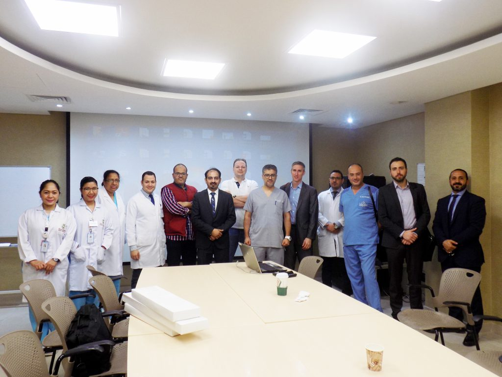 Plastic surgery workshop in Sidra Hospital with the most recent Jplasma machine for skin tightening without scars