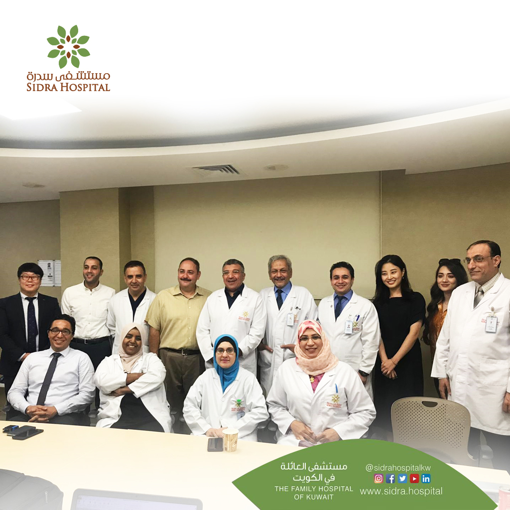 Training session for O&G doctors and radiology staff